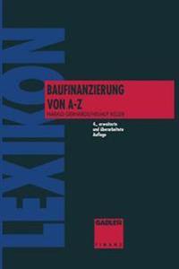 Lexikon Baufinanzierung Von a Bis Z