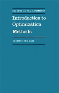 Introduction to Optimization Methods