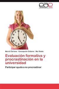 Evaluacion Formativa y Procrastinacion En La Universidad
