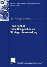The Effect of Team Composition on Strategic Sensemaking