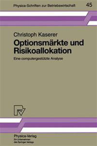 Optionsmarkte Und Risikoallokation