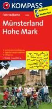 Naturpark Hohe Mark - Westmünsterland 1 : 70 000