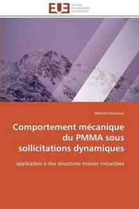 Comportement Mecanique Du Pmma Sous Sollicitations Dynamiques