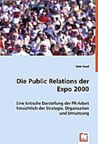 Die Public Relations der Expo 2000