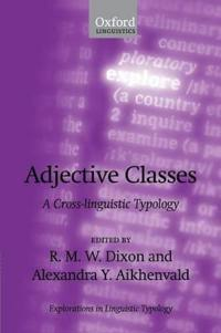 Adjective Classes