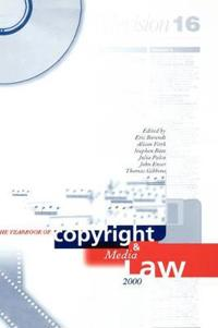 The Yearbook of Copyright and Media Law 2000