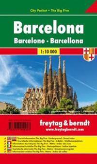 Barcelona 1 : 10 000 City Pocket + The Big Five