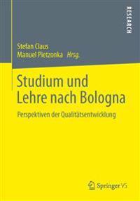 Studium Und Lehre Nach Bologna