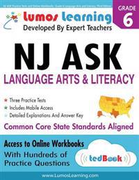 NJ Ask Practice Tests and Online Workbooks: Grade 6 Language Arts and Literacy, Third Edition: Common Core State Standards, Njask 2014