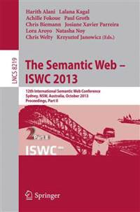The Semantic Web - ISWC 2013