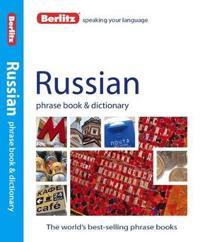 Berlitz Russian Phrase Book + Dictionary