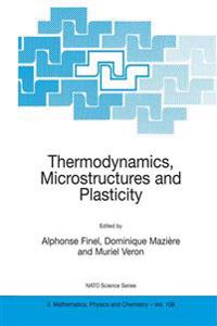 Thermodynamics, Microstructures and Plasticity