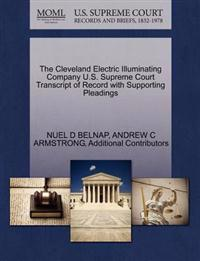 The Cleveland Electric Illuminating Company U.S. Supreme Court Transcript of Record with Supporting Pleadings