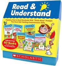 """Read & Understand Boxed Set: Engaging, Easy-To-Read Storybooks with """"Think-Aloud"""" Prompts That Boost Kids' Reading-Comprehension Skills"""