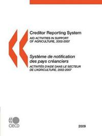 Creditor Reporting System 2009 / Systeme De Notification Des Pays Creanciers 2009