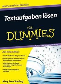 Textaufgaben loesen fur Dummies