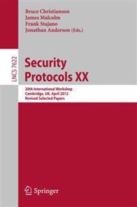 Security Protocols XX