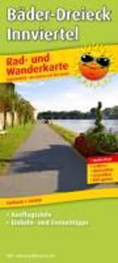 Rad- und Wanderkarte Bäder-Dreieck - Innviertel 1 : 50 000