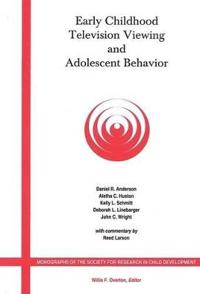 Early Childhood Television Viewing and Adolescent Behavior
