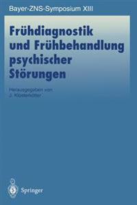 Fruhdiagnostik und Fruhbehandlung Psychischer Storungen