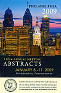 Archaeological Institute of America 110th Annual Meeting Abstracts
