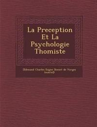 La Preception Et La Psychologie Thomiste