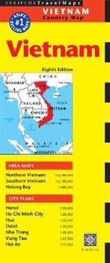 Periplus Travel Maps Vietnam