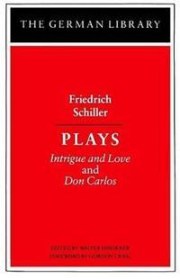 Friedrich Schiller Plays
