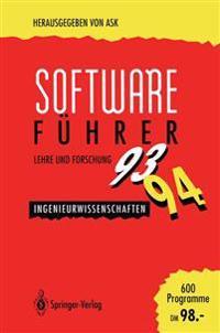 Software-Fuhrer '93/'94 Lehre und Forschung