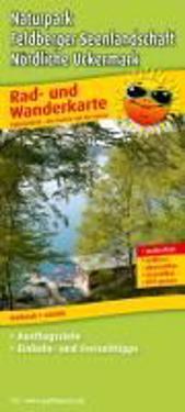 Naturpark Feldberger Seenlandschaft - Nördliche Uckermark 1 : 60 000