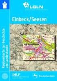 Einbeck / Seesen Regionalkarte zur Geschichte und Landeskunde 1 : 50 000
