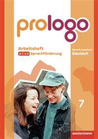 prologo - Grundausgabe für Hauptschulen. Arbeitsheft plus Sprachförderung 7