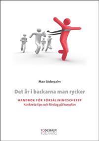 Det är i backarna man rycker : handbok för försäljningschefer