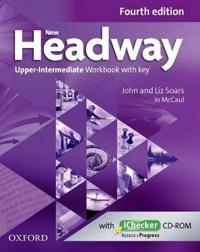 New Headway: Upper-Intermediate B2: Workbook + iChecker with Key