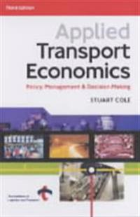Applied Transport Economics