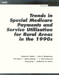 Trends in Special Medicare Payments and Service Utilization for Rural Areas in the 1900s