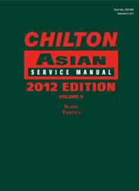 Chilton Asian Service Manual 2012