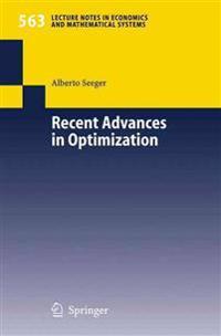 Recent Advances in Optimization