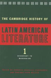 The Cambridge History of Latin American Literature 3 Volume Hardback Set