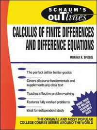 Schaum's Outline of Theory and Problems of Calculus of Finite Differences and Difference Equations,