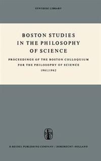 Proceedings of the Boston Colloquium for