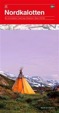 Nordkalotten Karta : 1:700000