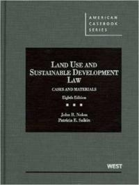 Land Use and Sustainable Development Law