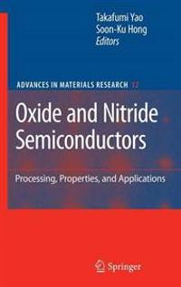 Oxide and Nitride Semiconductors