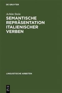 Semantische Repr sentation Italienischer Verben