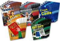 Project X Origins: Dark Blue Book Band, Oxford Level 15: Top Secret: Class Pack of 30
