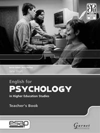 English for Psychology Teacher Book