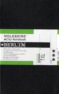 Moleskine City Notebook - Berlin, Pocket, Black, Hard Cover (3.5 X 5.5)