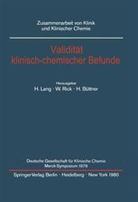 Validitat Klinisch-chemischer Befunde