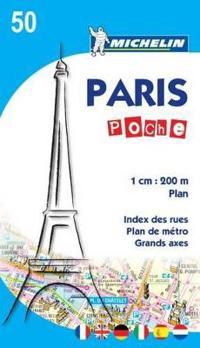Michelin Paris Poche Map 50